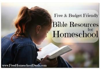 free homeschool bible