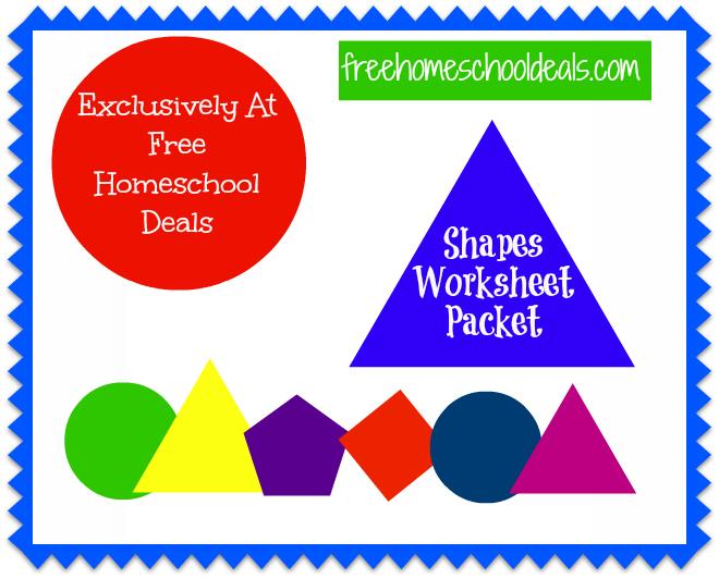 Shapes Worksheet Packet