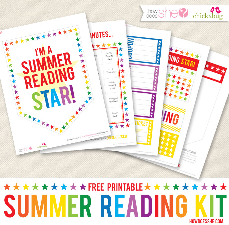 FREE Summer Reading Game for Kids Printable