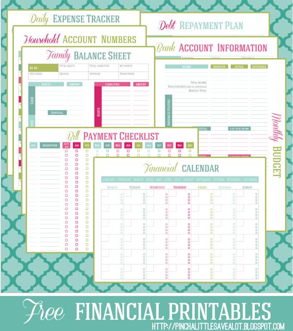 Free Money Management Essentials Printables