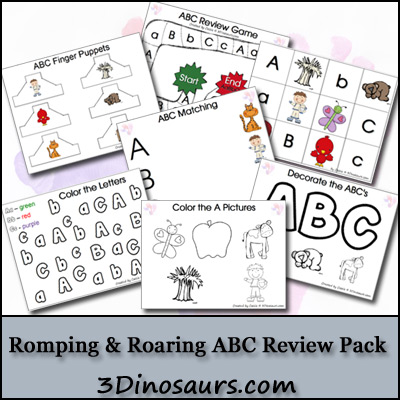 Free ABC Printable Worksheet Set (39-Pages)