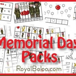 Free Memorial Day Printable Packs K-2nd