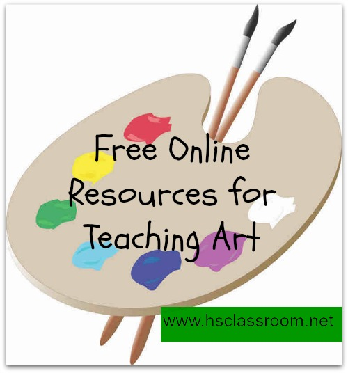 Teaching Art to Your Children with Free Online Resources
