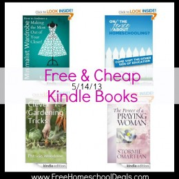 free kindle books homeschool