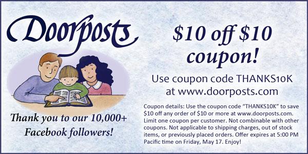 doorposts coupon