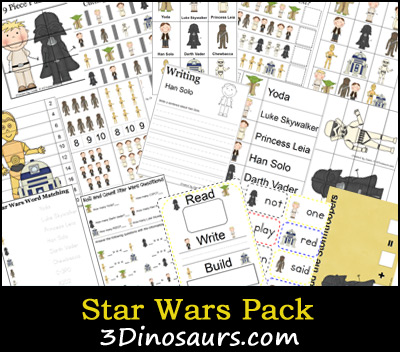 star wars printable worksheets