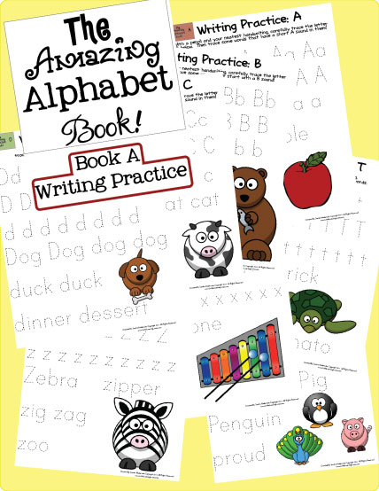 amazing alphabet writing