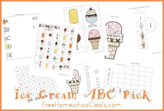 Ice Cream ABC Pack