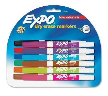 Amazon.com: 12 Pack of Expo Low Odor Dry Erase Pen Style