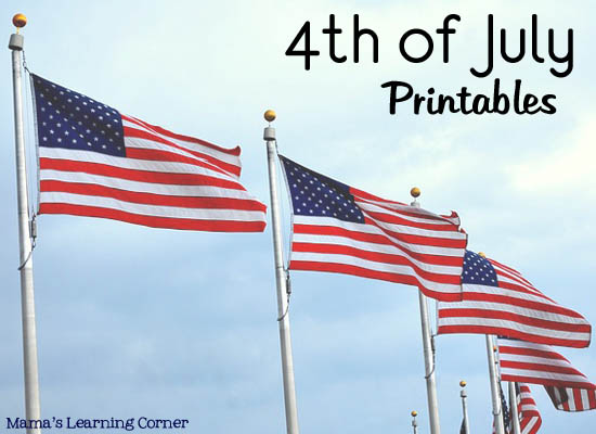 Free Patriotic And 4th Of July Worksheets And Printables