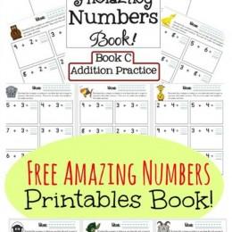 Free Amazing Numbers Printables Book {Subscriber Freebie}