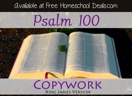 free homeschool copywork