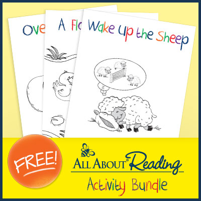 Free Reading Activity Bundle from All About Reading