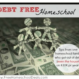 debt free homeschool
