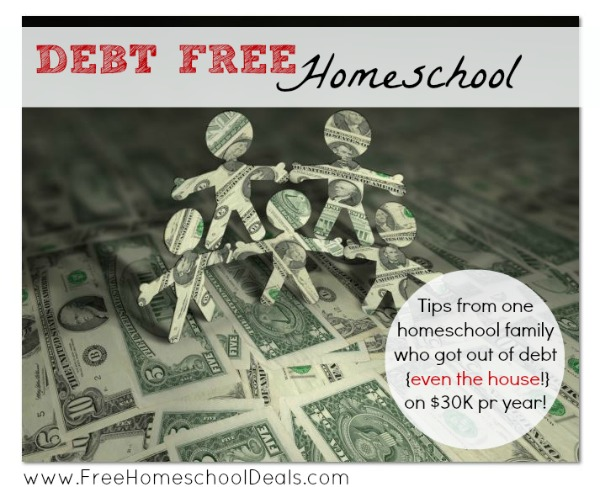 debt free homeschool