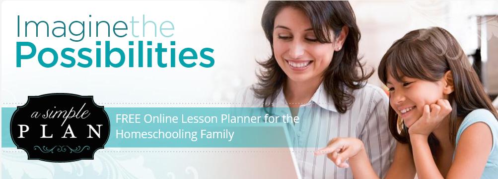 free online lesson planner for the homeschool family