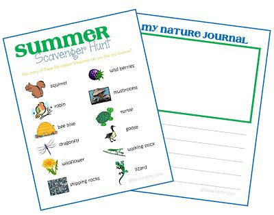 Free Summer Scavenger Hunt Printable