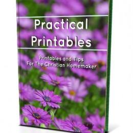 Free Homemaking eBook: Practical Printables