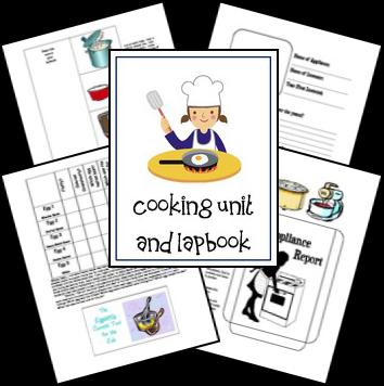 Free Cooking Unit & Lapbook
