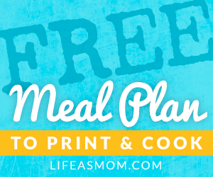 Free Printable Grocery Lists and Weekly Meal Plans