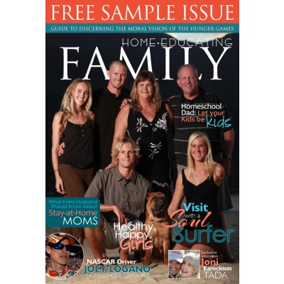 FREE SAMPLE ISSUE of Home Educating Family Magazine