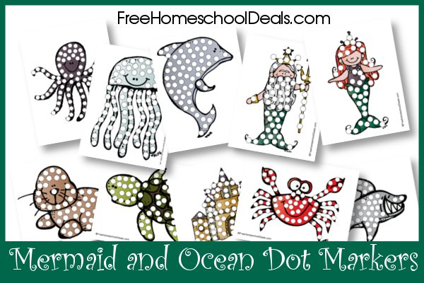 image about Mermaid Templates Printable identify Free of charge Mermaid Printables and Crafts - Homeschool Giveaways