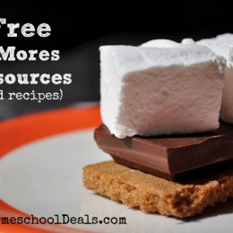 Free National S'mores Day Resources {and recipes}