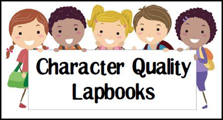 Character Quality Lapbooks