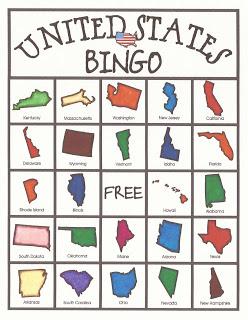 Free State Bingo Game Printables