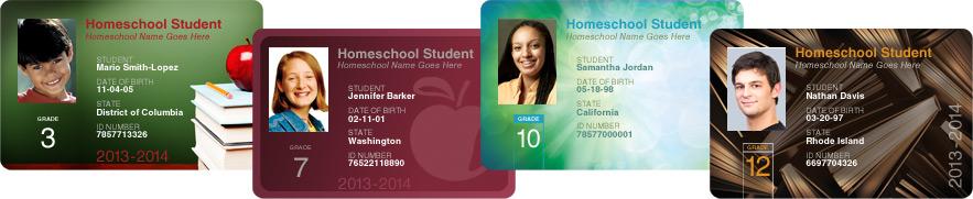Free Homeschool Student ID Cards