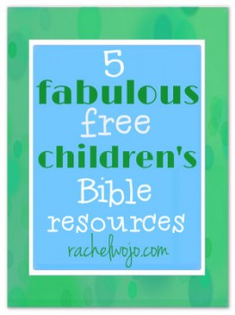 FREE Bible Resources for Children