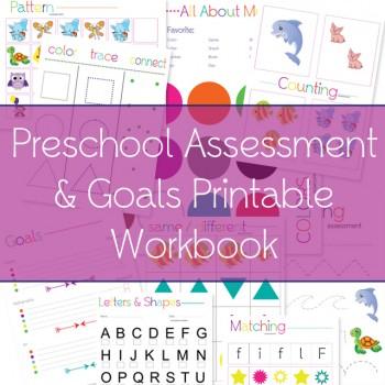 Free Preschool Assessment Printables