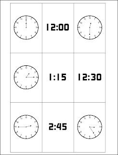 image regarding Telling Time Printable Game titled Totally free Printable Telling Season Card Recreation