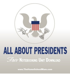 Free All About the President Notebooking Unit
