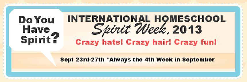 Homeschool Spirit Week