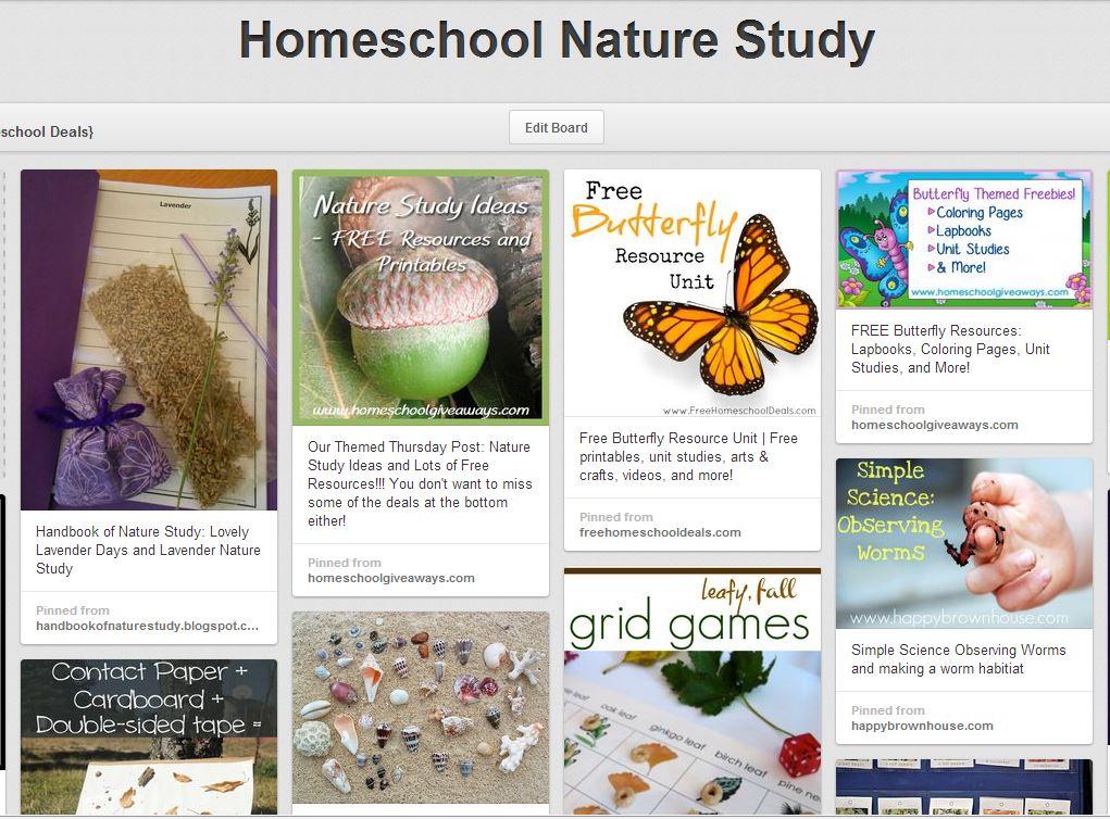 homeschool nature study