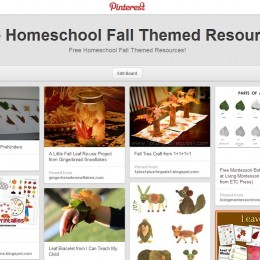 Free Homeschool Fall Themed Resources