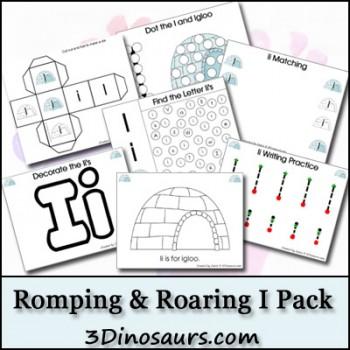 Free Romping & Roaring I Printable Pack