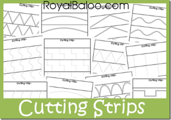 Free Cutting Practice Strips
