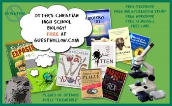 FREE Homeschool High School Christian Biology Curriculum