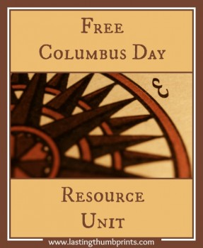 Free Columbus Day Resources For Your Homeschool