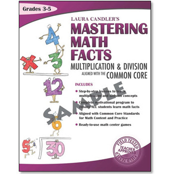 FREE Mastering Math Facts Multiplication and Division Worksheet Set
