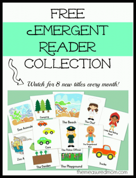 Free Emergent Readers Collection