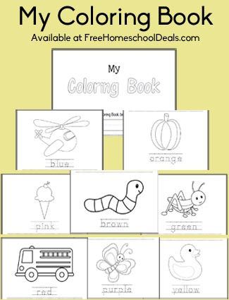 Free Download: My Coloring Book for Preschool-Early Kindergarten ...