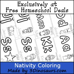 Nativity: Free Nativity Printable Pack