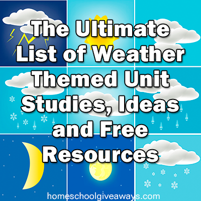 Your One Stop Shop for FREE Weather-Themed Resources!