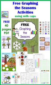 Free Graphing the Season Activity Printables