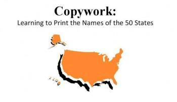 Free 50 States Copywork