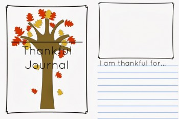 Free Thankful Journal Writing Prompt