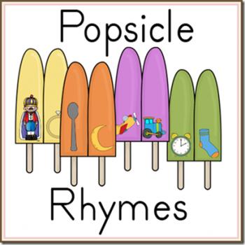 Free Popsicle Rhymes Printable